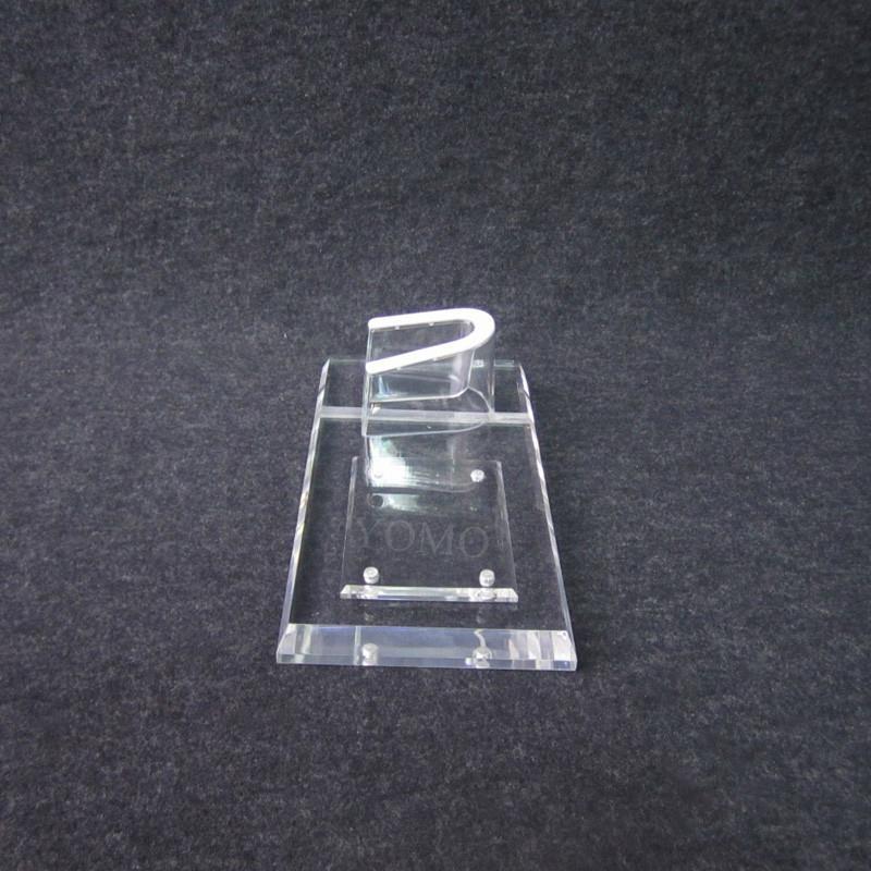 亚克力手机平板一体展示座 U座防盗数码架托 支架手机座 7