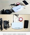 Multi-pors Security Cell Phone Display Holder with Alarm Feature