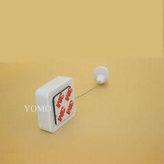 伸缩防盗拉线盒 小商品展示软胶端子 测试笔防盗器 化妆品防盗