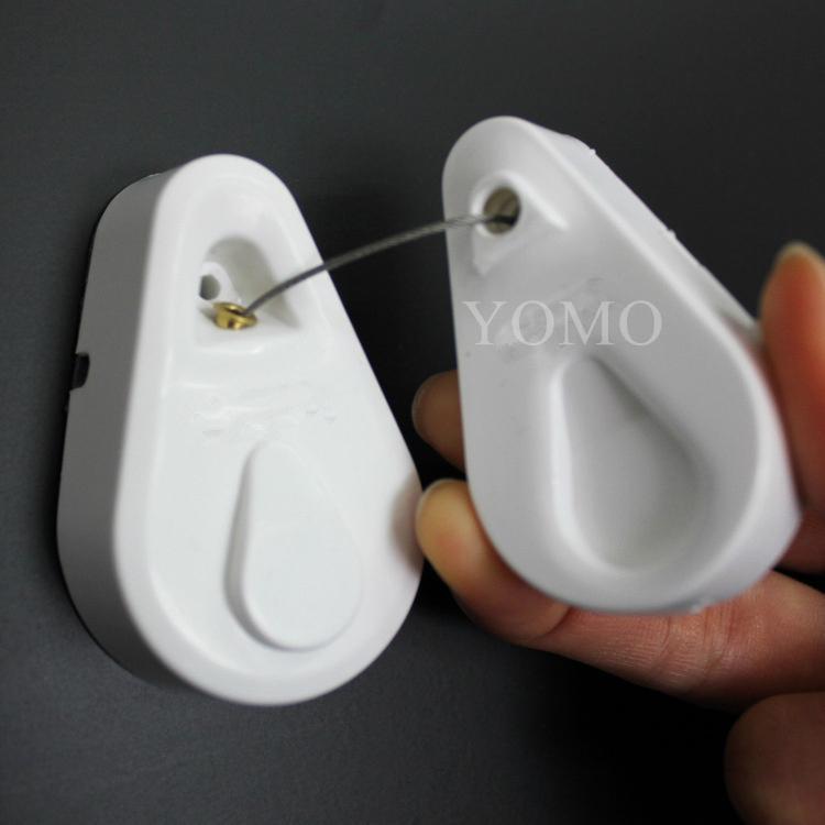 手机防盗拉线盒 自动伸缩钢丝绳 接线盒 拉线器 展示拉线绳 手机防盗链 3