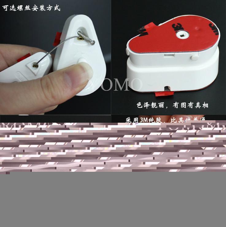 手機防盜拉線盒 自動伸縮鋼絲繩 接線盒 拉線器 展示拉線繩 手機防盜鏈 5
