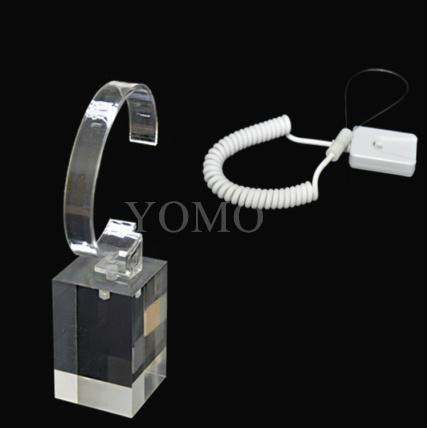 手机展示自动伸缩防盗链 拉线盒 机模防盗器 墙挂拉绳 5