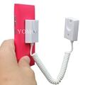手机展示自动伸缩防盗链 拉线盒