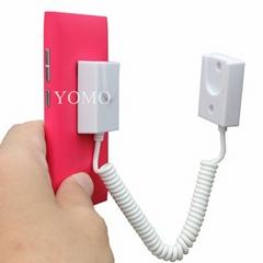 手機展示自動伸縮防盜鏈 拉線盒 磁力座模型防盜器 牆挂拉繩