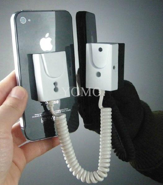手机展示自动伸缩防盗链 拉线盒 磁力座模型防盗器 墙挂拉绳 3