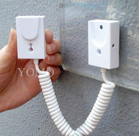 手机展示自动伸缩防盗链 拉线盒 磁力座模型防盗器 墙挂拉绳 5