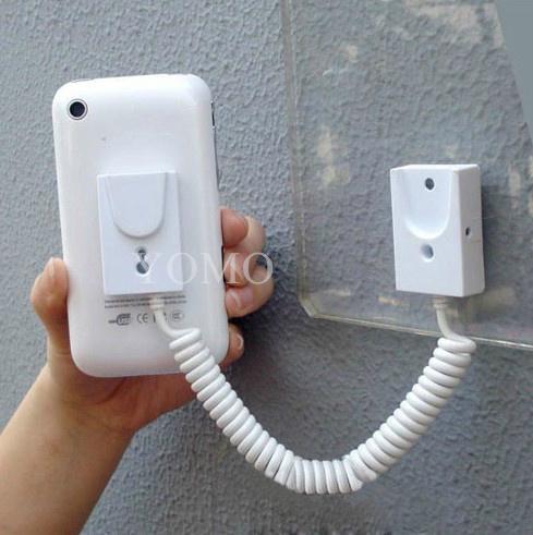 手机展示自动伸缩防盗链 拉线盒 磁力座模型防盗器 墙挂拉绳 6