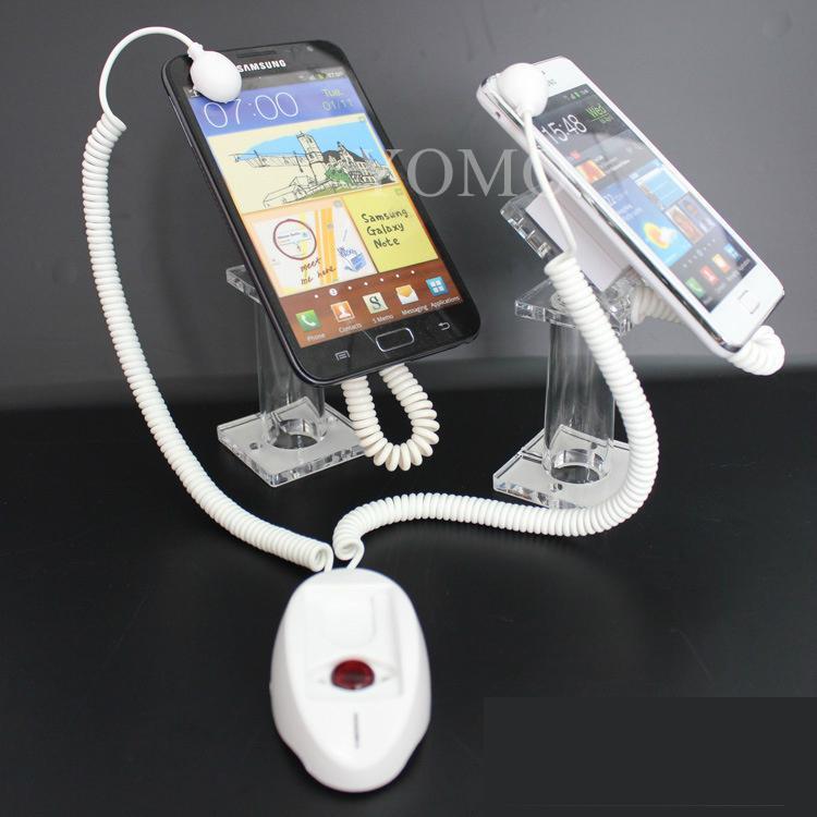 雙頭手機報警器 手機展示防盜器 蘋果三星手機防盜器 2