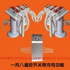 Multi Ports Power&Alarm Display System for Iphone,Samsung