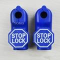 小紅鎖扣 商場貨架挂鉤鎖 配件展示架防盜扣 超市防盜挂鉤鎖 3