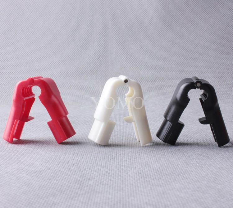 小紅鎖扣 商場貨架挂鉤鎖 配件展示架防盜扣 超市防盜挂鉤鎖 12