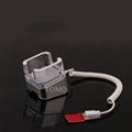 高瑞展示華為手機防盜報警器防盜展示架充電水晶報警支架 12