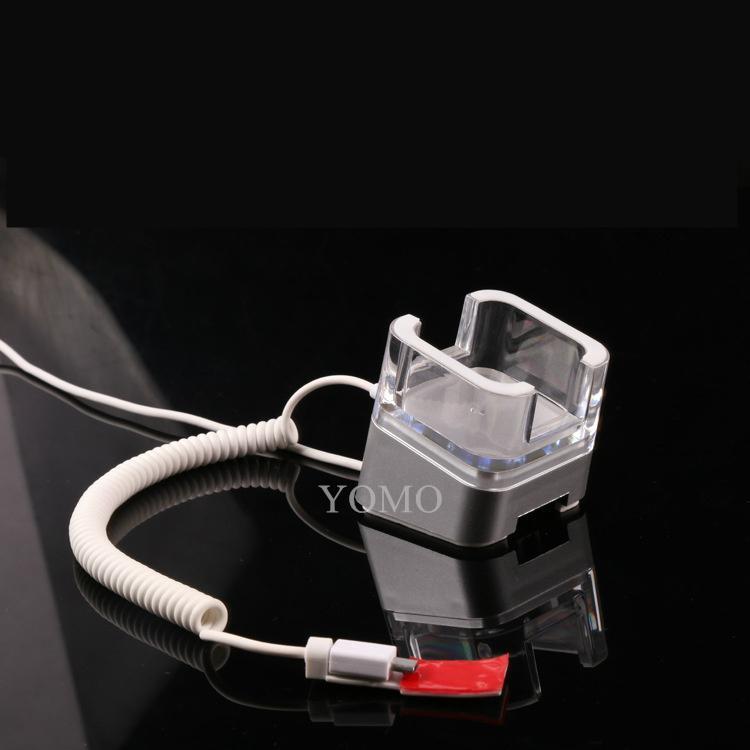 高瑞展示華為手機防盜報警器防盜展示架充電水晶報警支架 14