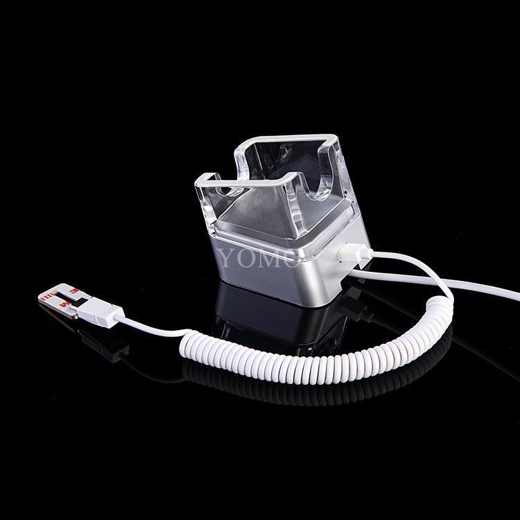 高瑞展示華為手機防盜報警器防盜展示架充電水晶報警支架 15