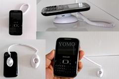 弹簧式卧式磁力手机机模防盗展示器