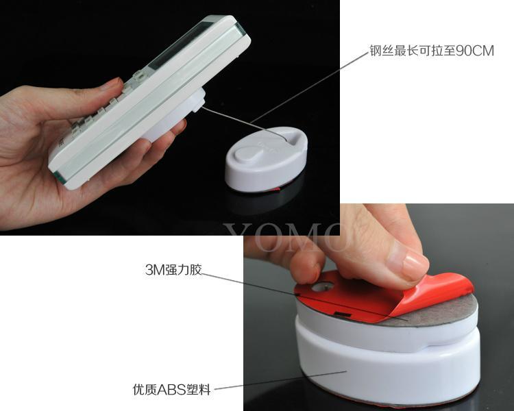 手機防盜拉線盒 自動伸縮鋼絲繩 接線盒 拉線器 展示拉線繩 手機防盜鏈 14