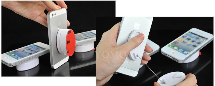 手机防盗拉线盒 自动伸缩钢丝绳 接线盒 拉线器 展示拉线绳 手机防盗链 16