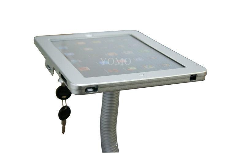 V shape base desktop bracket for Ipad ,Portable Desktop Tablet Kiosks 6