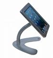 桌面V型展示平板支架 帶鎖防盜支架 床頭懶人平板支架 3