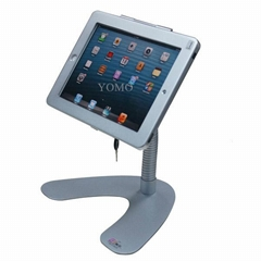 V shape base desktop bracket for Ipad ,Portable Desktop Tablet Kiosks