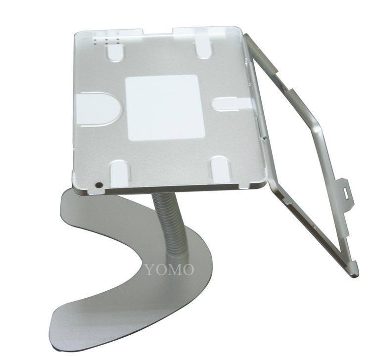 桌面V型展示平板支架 帶鎖防盜支架 床頭懶人平板支架 9