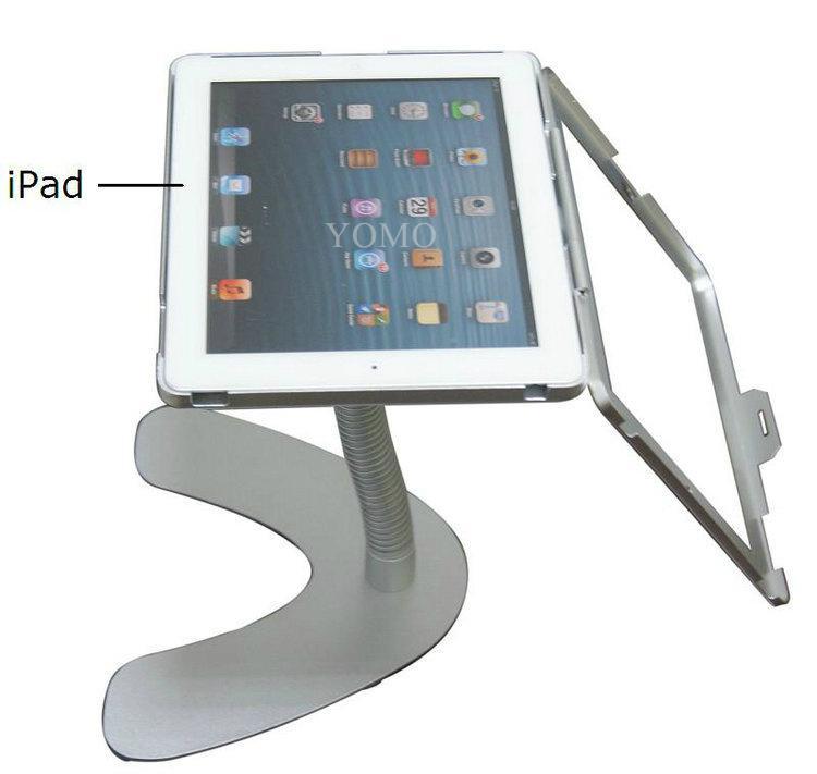 桌面V型展示平板支架 帶鎖防盜支架 床頭懶人平板支架 10