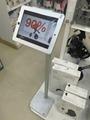 ipad平板落地支架 平板电脑展示支架 铝合金防盗支架 8