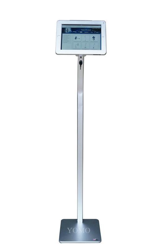 ipad平板落地支架 平板電腦展示支架 鋁合金防盜支架 11
