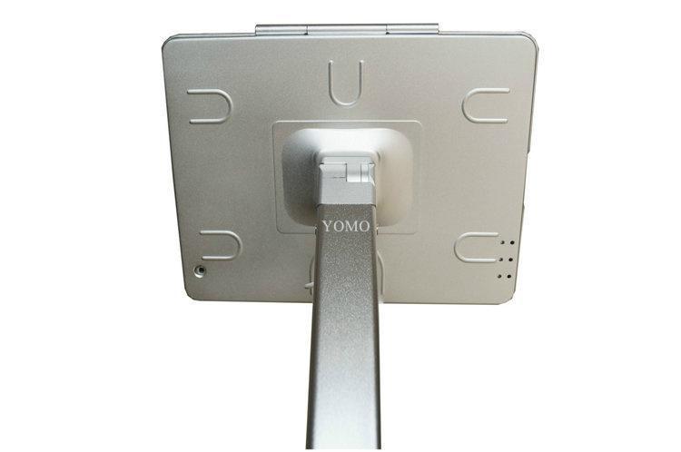 ipad平板落地支架 平板电脑展示支架 铝合金防盗支架 12