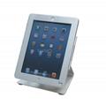 L shape base desktop bracket for Ipad ,Portable Desktop Tablet Kiosks 3