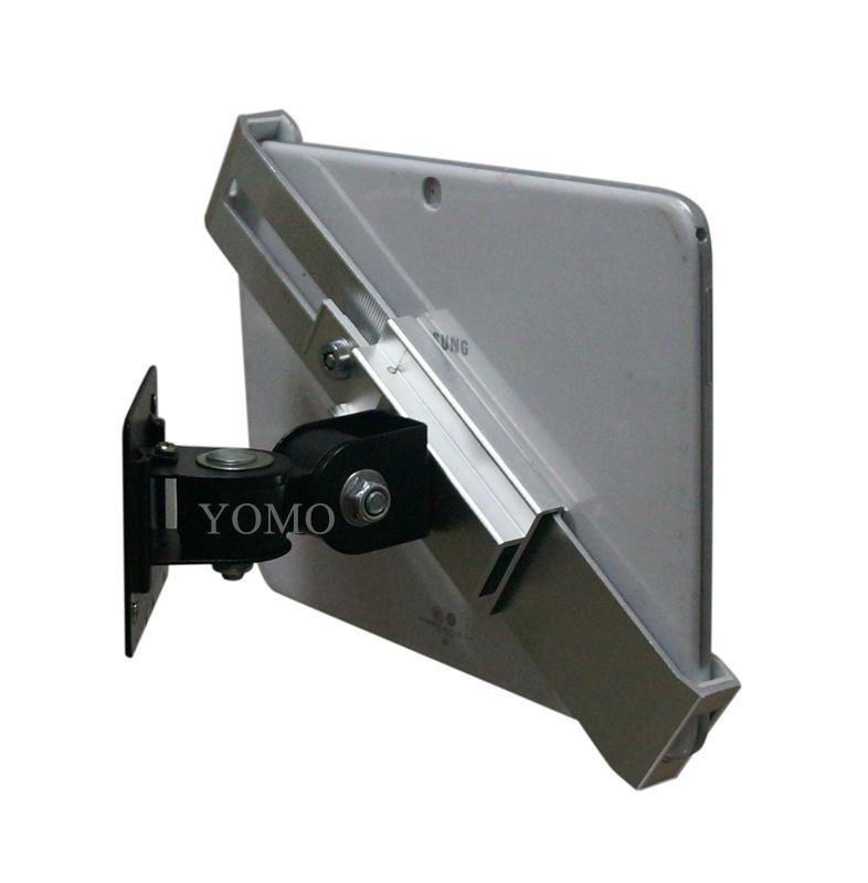 挂牆多角度可調通用平板支架 平板電腦展示支架 iPad金屬支架 1