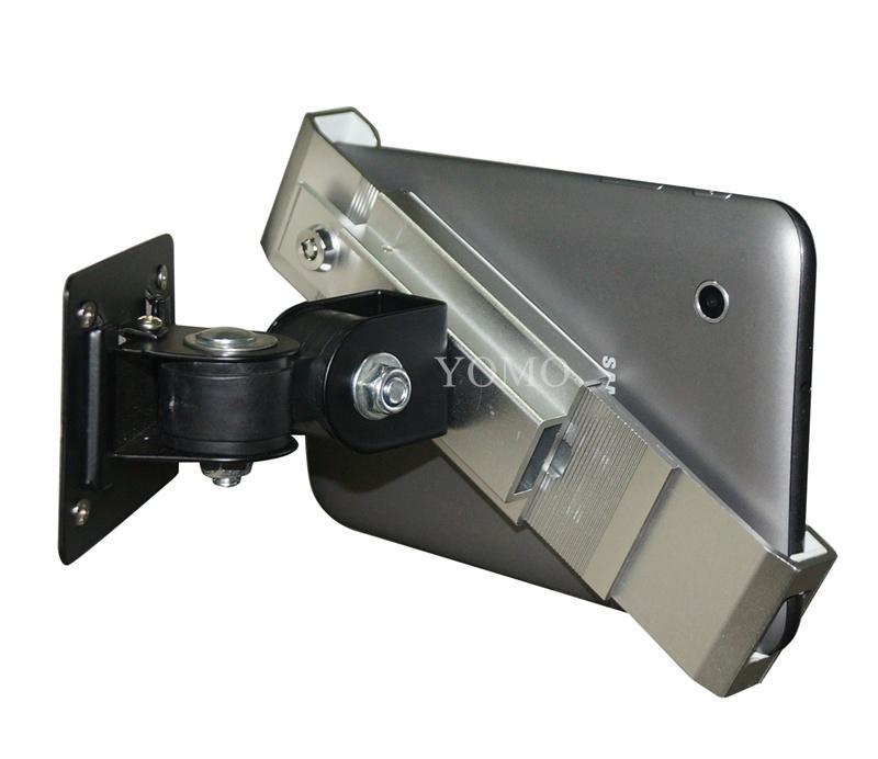 挂牆多角度可調通用平板支架 平板電腦展示支架 iPad金屬支架 7