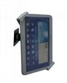 挂墙多角度可调通用平板支架 平板电脑展示支架 iPad金属支架 10