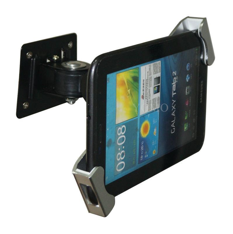 挂牆多角度可調通用平板支架 平板電腦展示支架 iPad金屬支架 11