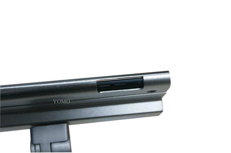 桌面V型展示平板支架 带锁防盗支架 床头懒人平板支架 2