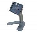 V shape base desktop bracket for Ipad ,android tablet kiosk 3