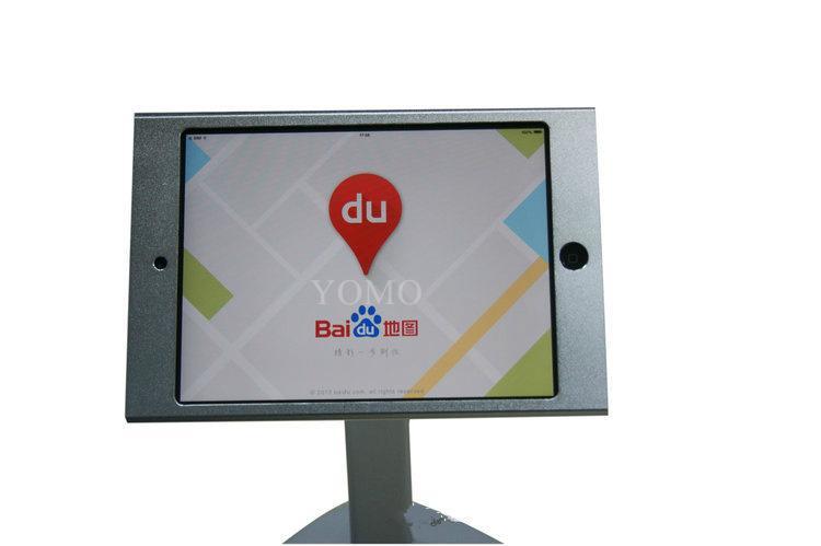 V shape base desktop bracket for Ipad ,android tablet kiosk 4