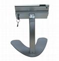 桌面V型展示平板支架 带锁防盗支架 床头懒人平板支架 5