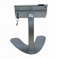 V shape base desktop bracket for Ipad ,android tablet kiosk