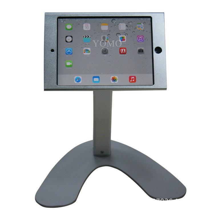 桌面V型展示平板支架 带锁防盗支架 床头懒人平板支架 1