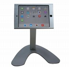 桌面V型展示平板支架 带锁防盗支架 床头懒人平板支架