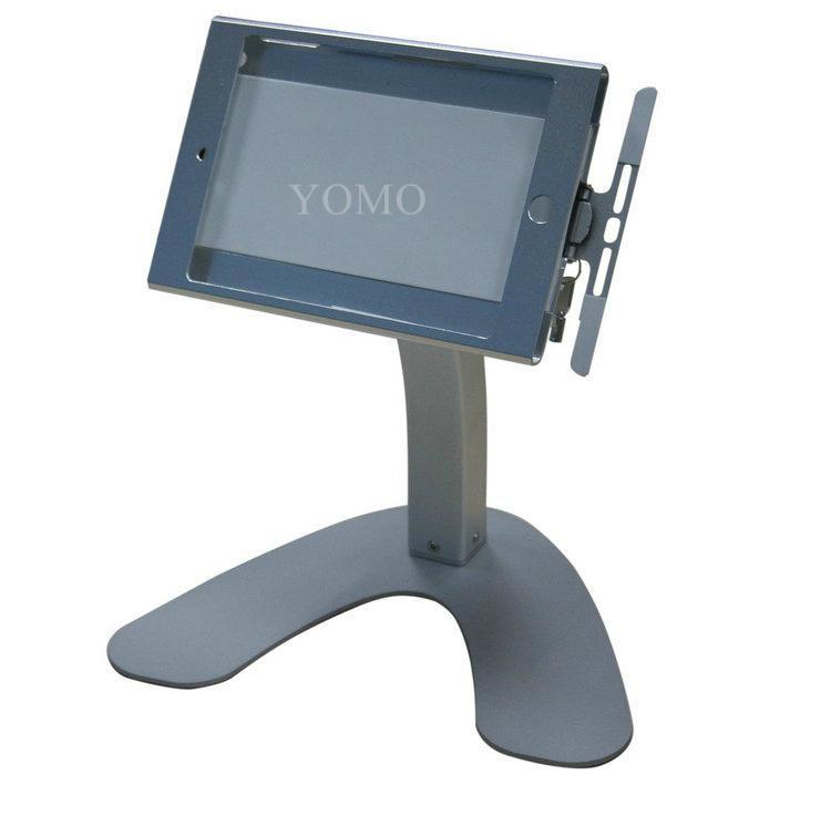 桌面V型展示平板支架 带锁防盗支架 床头懒人平板支架 7