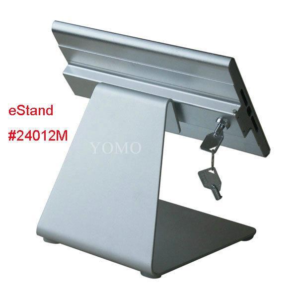 L shape base desktop bracket for Ipad ,Portable Desktop Tablet Kiosks 6