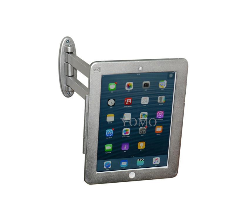 挂墙折叠伸缩IPAD支架 平板电脑防盗支架 带锁支架 3