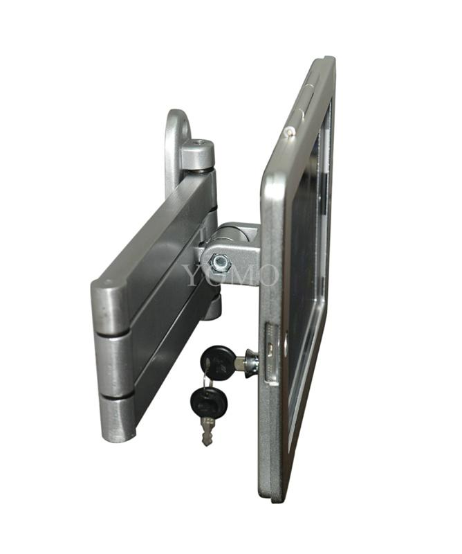 挂墙折叠伸缩IPAD支架 平板电脑防盗支架 带锁支架 6