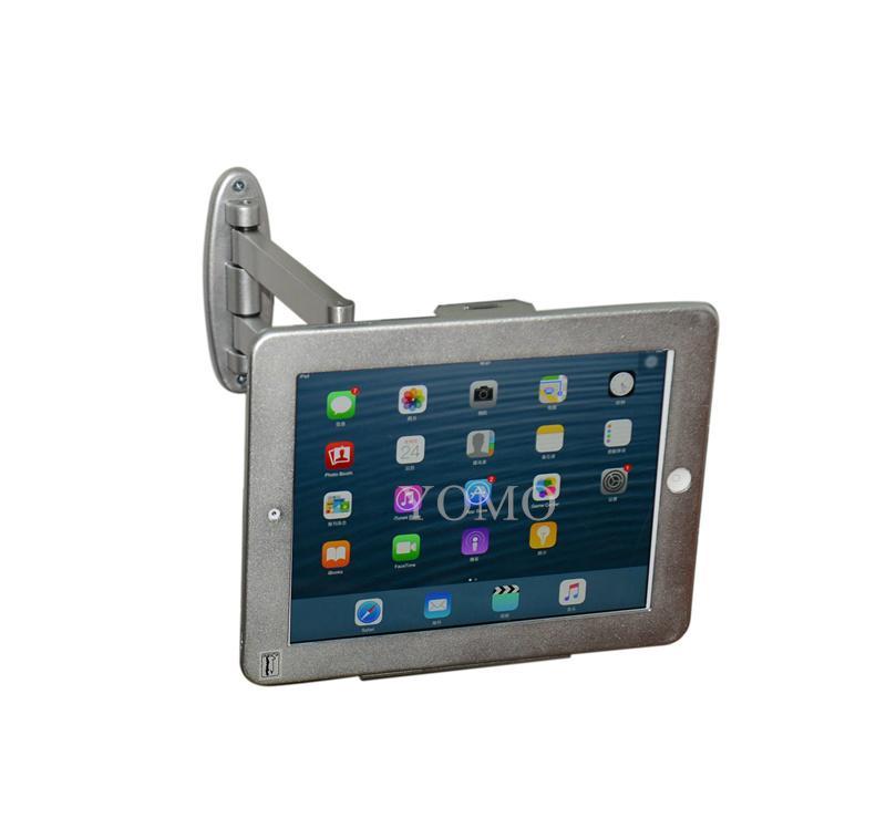 挂墙折叠伸缩IPAD支架 平板电脑防盗支架 带锁支架 12