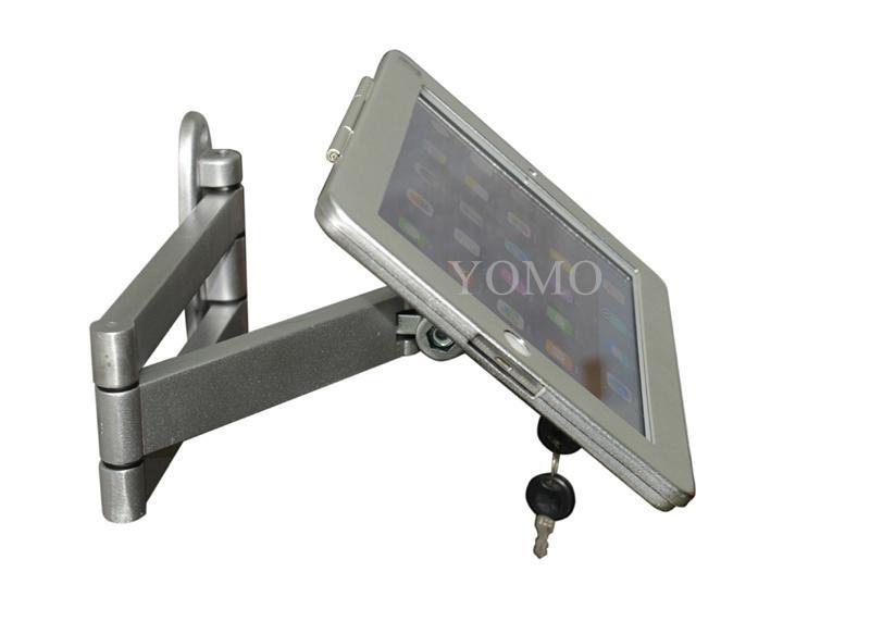 挂墙折叠伸缩IPAD支架 平板电脑防盗支架 带锁支架 1
