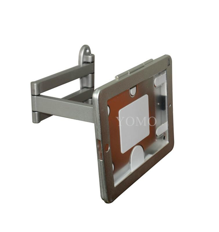 挂牆折疊伸縮IPAD支架 平板電腦防盜支架 帶鎖支架 10