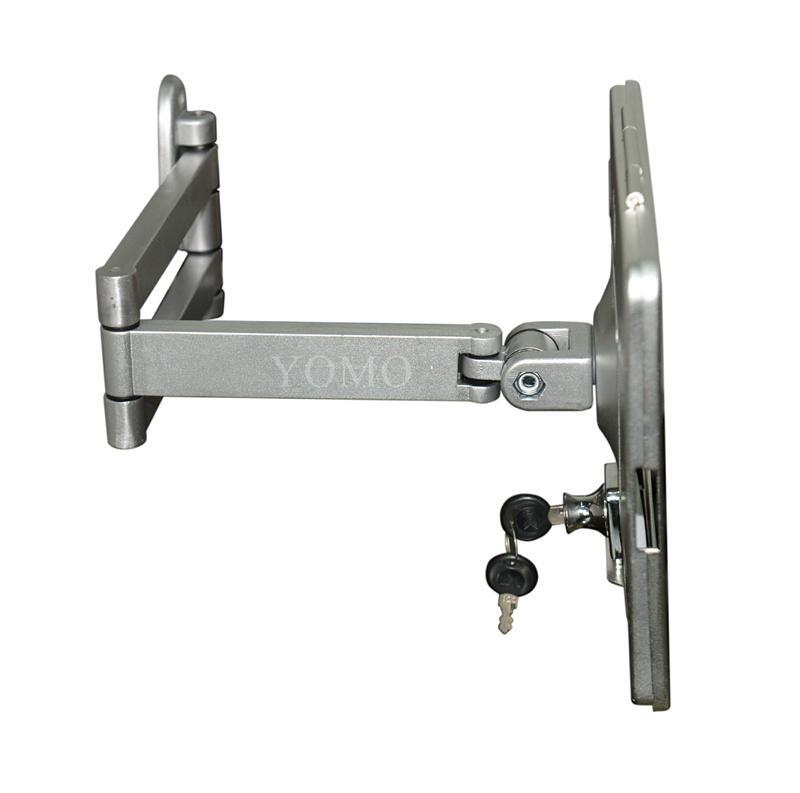 挂墙折叠伸缩IPAD支架 平板电脑防盗支架 带锁支架 11
