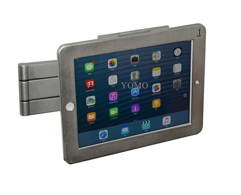 挂墙折叠伸缩IPAD支架 平板电脑防盗支架 带锁支架 13